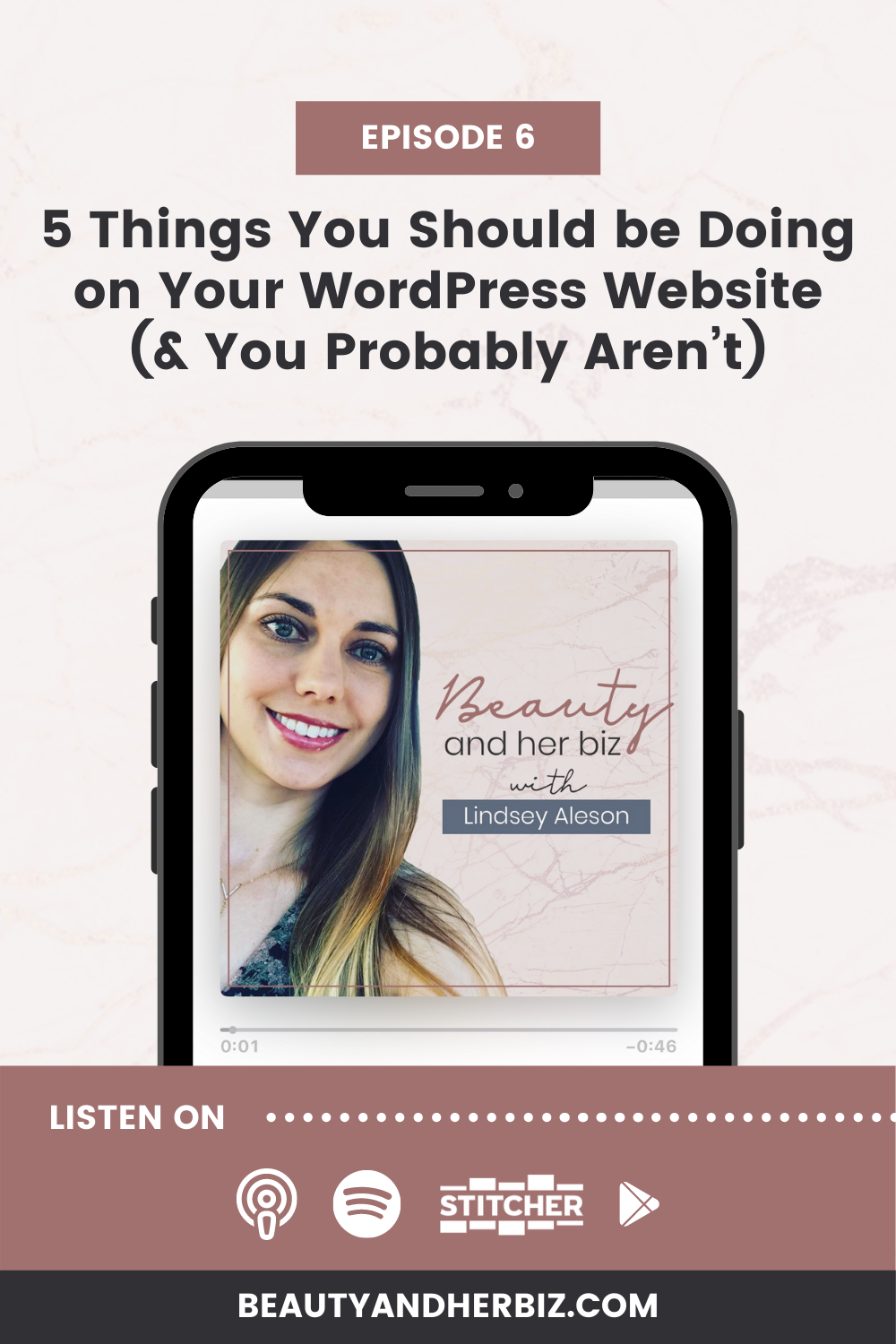 Episode 6 | 5 Things You Should be Doing on Your WordPress Website (& You Probably Aren't)